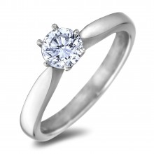 Diamond Solitaire Rings SGE1233 (Rings)