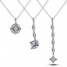 Diamond Pendants CRL-P12212 (Pendants)